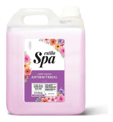 Jabon Liquido Para Manos Estilo Spa Antibacterial Bidon 5lts