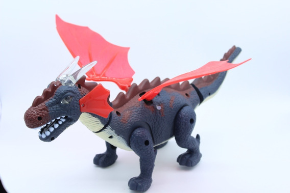 Dragon De Juguete Con Movimiento, Luz Y Sonido Envio Gratis