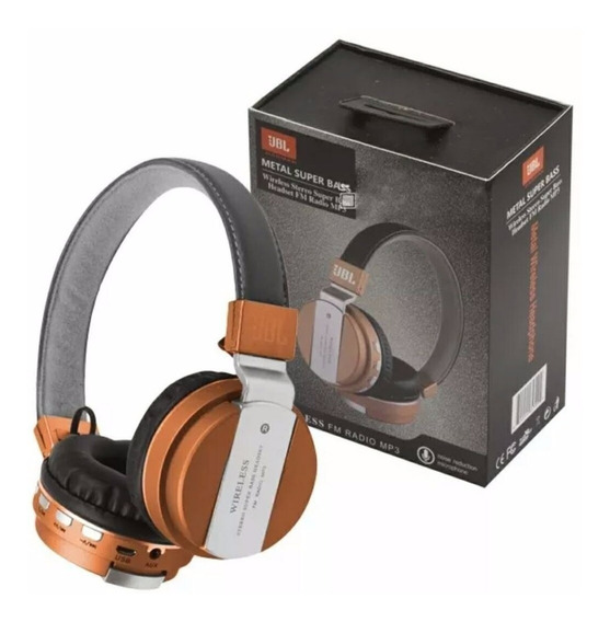 Fone De Ouvido Bluetooth Jbl Jb55 Headphone Wireless Mp3