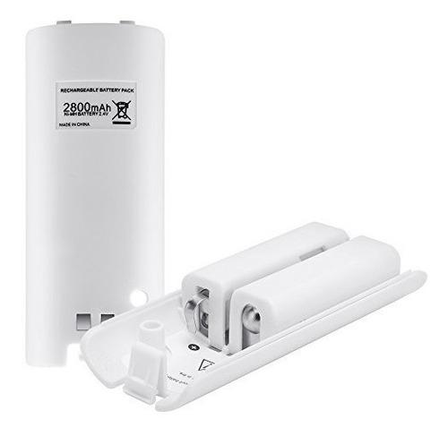 Paquete De Baterías Para Los Controles Remotos De Wii, Lavuk