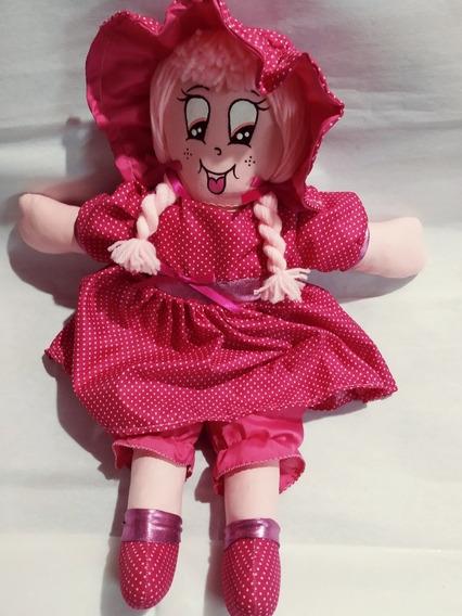 Muñeca De Trapo De 40cm