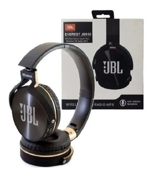 Fone De Ouvido Bluetooth Jb950 Everest Super Bass Fone