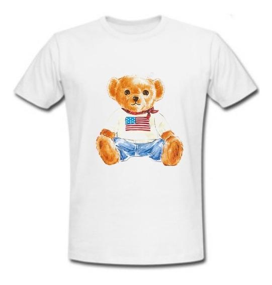 Playera Polo Bear Usa