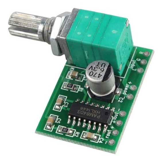 Mini Amplificador Digital Pam8403 Audio Volumen 3w Nubbeo