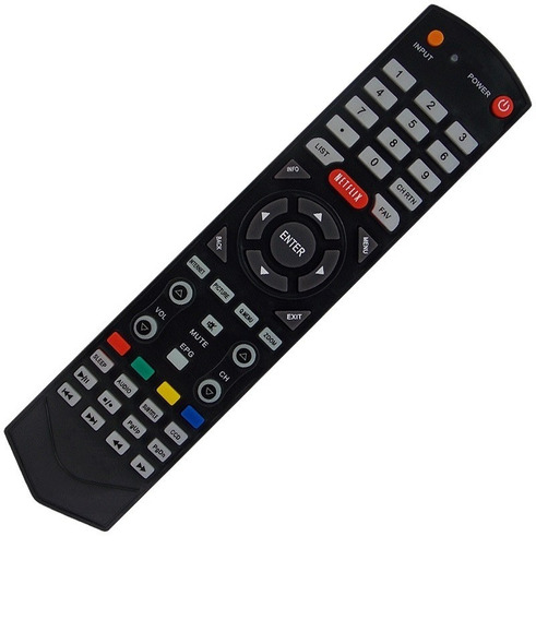 Controle Remoto Tv Semp Toshiba Sti Netflix Ct-6610 7010
