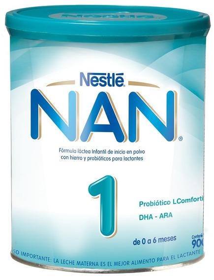 Leche Nan® 1 Lcomfortis® 900g Tarro Fórmula Infantil