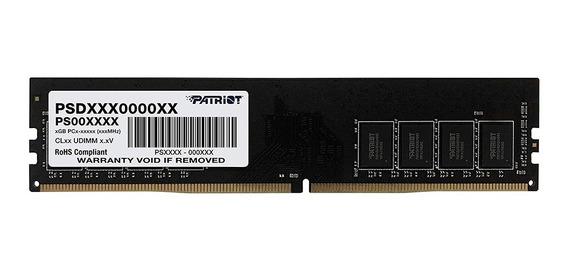Memoria Ram Patriot 4gb 1x4gb Ddr4 2400 Ghz Cl17 Pc