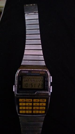 Relogio Casio Calculadora 1985 Raro