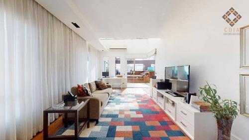Apartamento Para Comprar Com 3 Quartos E 6 Vagas Localizado No Sumaré - Co1599