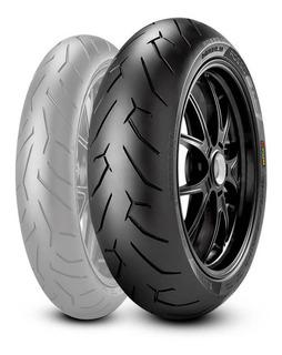 Cubierta 240 45 17 Zr 82w Pirelli Diablorossoii Ducati Gi