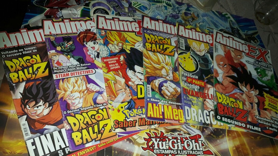 6x Revista Animes Ex
