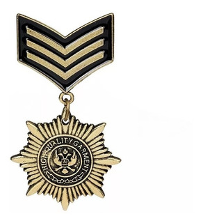 Medalla Insignia Militar Broche