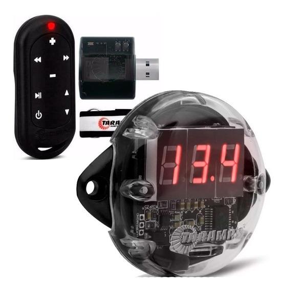 Kit Controle Longo Alcance Taramps Usb + Voltímetro Vtr1000