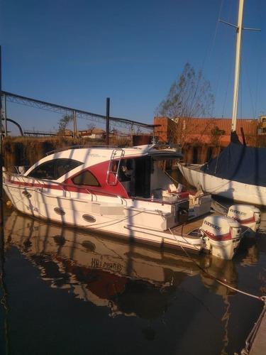 Catamaran A Motor Nautiglass Powercat 700 Año 2018