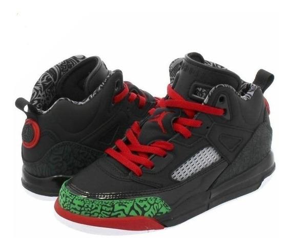 Tenis Jordan Niños Spizike Basketball Retro 3 4 5 Y 6 Hybrid