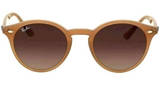 Óculos Ray-ban Rb2180 Round Nude Translucido