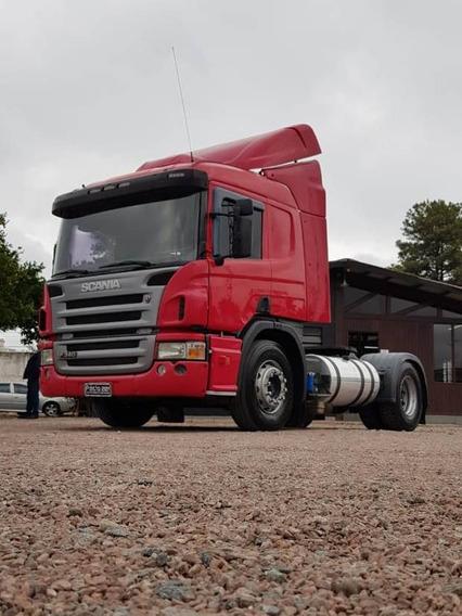 Caminhão Scania P340 2011 4x2 Cavalo Toco