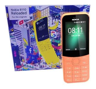 Telefonos Celular Nokia 8110 Doble Sim Liberado Mp3 Camara