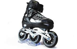 Rollers Heist Bw3 Speed Skate Extensible 3 Ruedas Olivos