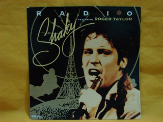 Vinilo Single 7 Shaky Stevens And Roger Taylor Radio Queen