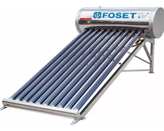 Calentador Solar De 10 Tubos Foset 45270