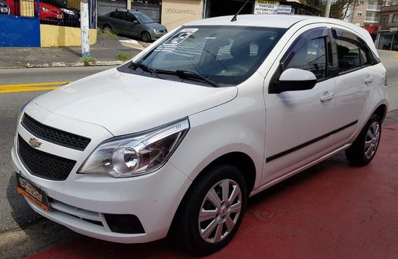 Chevrolet Agile 1.4 Lt Direcao , Ve.te. Branco 2012