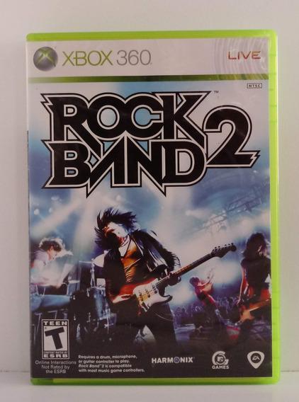 Rock Band 2 Jogo Xbox 360 Usado Mídia Física