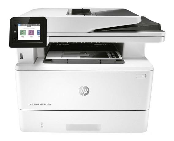 Impressora Hp Laser Multifuncional Com Fax Mono Pro M428dw S