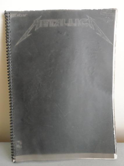 Songbook - Livro - Metallica: Black, Guitarra Tab Partitura