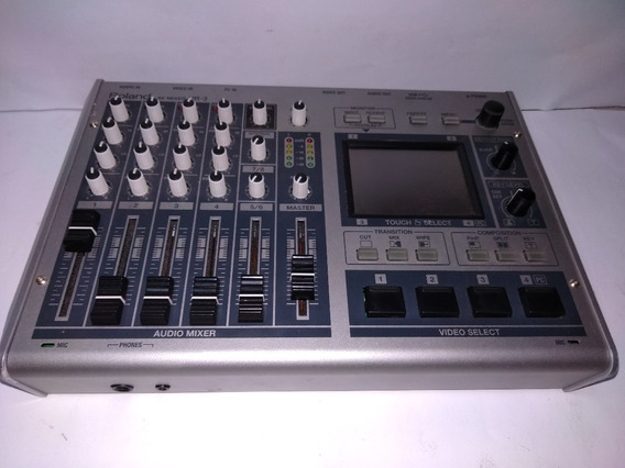 Mixer De Audio E Vídeo Vr-3 Av - Edirol By Roland