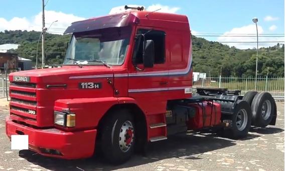 Scania 113 360 6x2 1998 No Cavalo