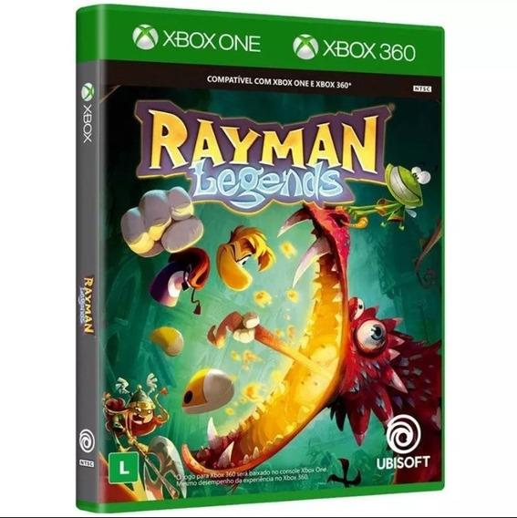 Rayman Legends Xbox One E Xbox 360 Midia Fisica Original
