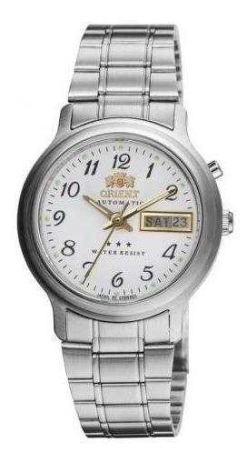 Relógio Orient Masculino Prata 469wb1ab2sx