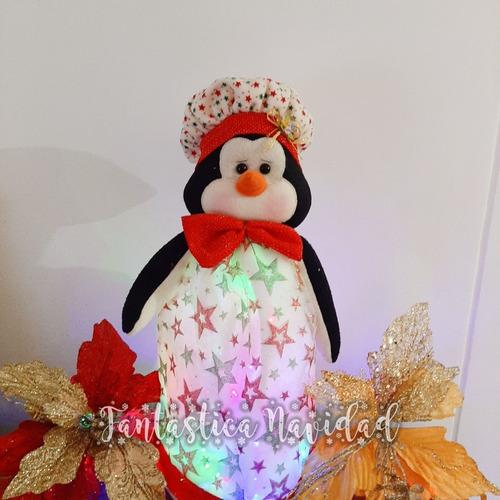 Imagen 1 de 5 de Farol De Navidad - Muñeco De Navidad