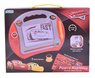 Pizarra Magica Magnetica Disney Cars Original Ditoys