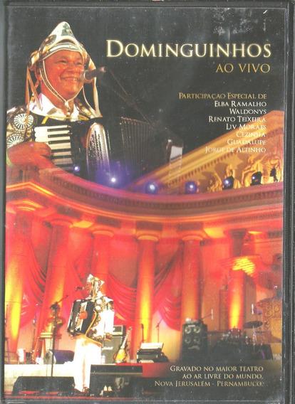 Dvd - Dominguinhos - Ao Vivo