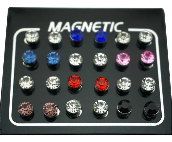 Aros Iman Magneticos Sin Perforación Unisex (par)