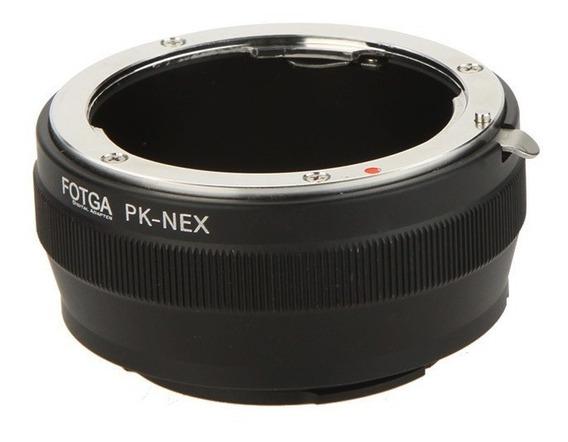 Adaptador Lente Pentax Pk P/ Sony Nex E A7ii A7s A6500 A6300