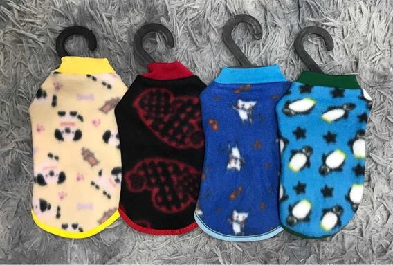 Kit 5 Roupinhas Soft Pet Tam.0 P/ Cachorro Cães