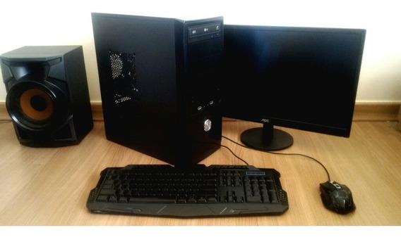 Computador Amd/4gb Ram/500hd + Acessórios