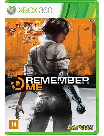 Jogo Midia Fisica Da Capcom Remember Me Para Xbox 360