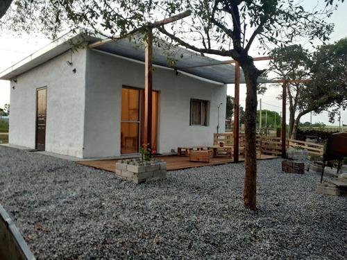 Casa En Alquiler 3 Cuadras De La Playa Los Pinos ( Fomento)