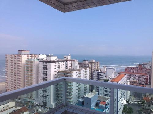 Imagem 1 de 22 de Cobertura Com 4 Dormitórios À Venda, 200 M² Por R$ 1.300.000,00 - Ocian - Praia Grande/sp - Co0003