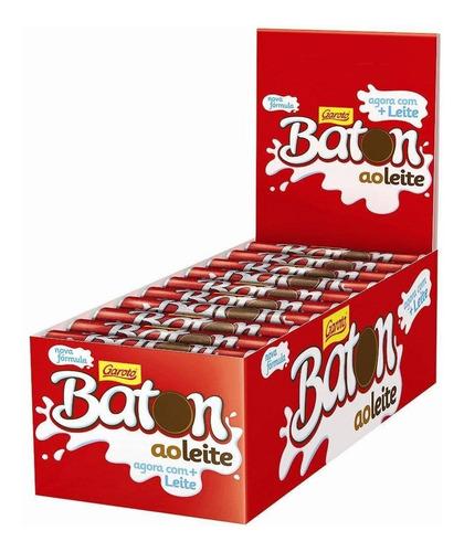 Imagen 1 de 4 de Baton Garoto Caja 30 Unidades