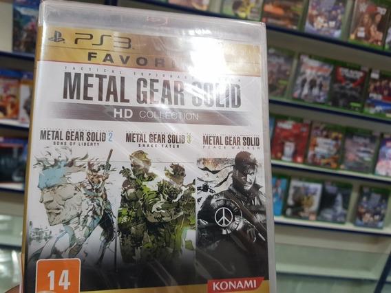 Metal Gear Solid Hd Colection Lacrado Ps3 Mídia Física