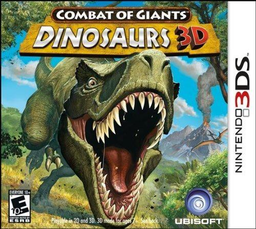 Combat Of Giants Dinosaurs - 3ds - Midia Fisica!