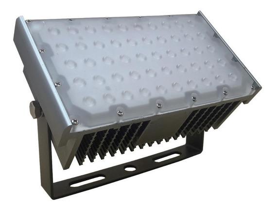 Refletor Holofote Led Modular 50w Ip68 Bivolt Branco Frio