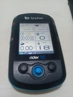 Ciclocomputador Gps Bryton Rider 50