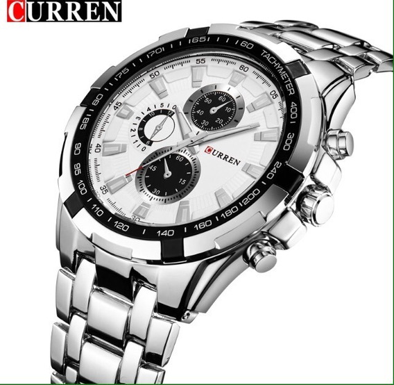 Relógios Masculinos Curren De Luxo, Relógio Top De Marca