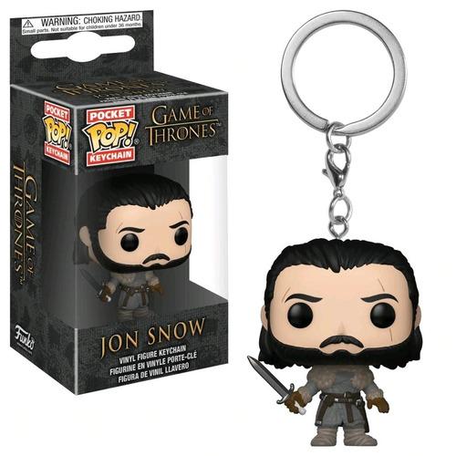 Funko Pop Pocket Keychain Llavero Game Of Thrones Jon Snow